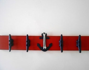 Boat Cleat - Wall Rack - Boat Cleats - Anchor Decor - Nautical Nursery Decor - Nautical Decor - Beach Nursery Decor - Anchor Nursery - Beach