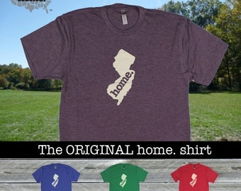 New Jersey Home. shirt- Men's/Unisex Next Level