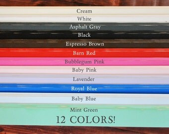 5ft Photography Baseboard - Plain Design Decorative Baseboard Trim - 12 Colors