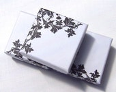 Earring Box - Jewelry Packaging - Black and White Jewelry Boxes - Choose from 3, 5 or 10 boxes