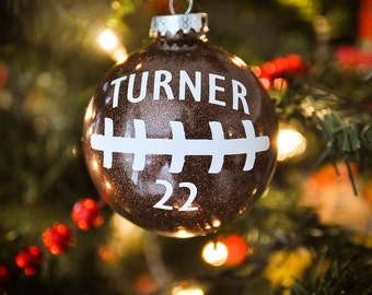Football Ornament - Personalized