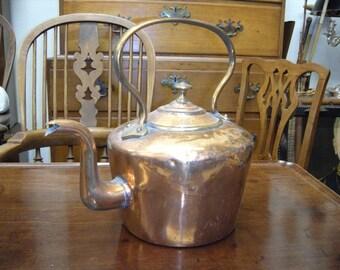 Antique Copper Kettle