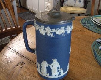 Antique Cobalt Blue Jasperware Wedgewood