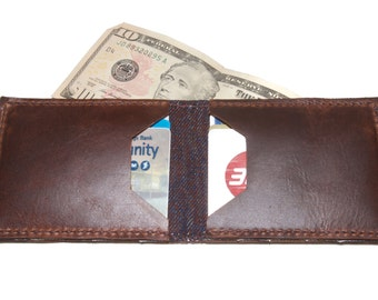 "The Denimaniac"" Minimal Billfold Wallet"