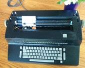 Working IBM Selectric II Typewriter Correcting - Black Typewriter - 1970s Electric Typewriter - Ready to Use