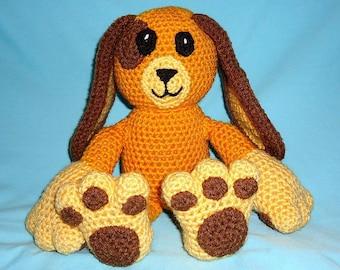 Golden Retriever Pouty Puppy Amigurumi PATTERN from ...