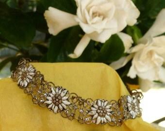 Fancy Flower Fillagree  Bracelet