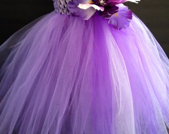 Purple Infant Iris Tutu Dress