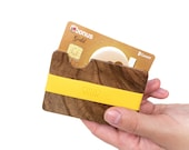 VALENTINES DAY GIFT - Wooden Flexible Wallet