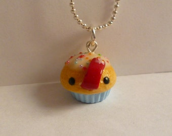 Hungry Cupcake Necklace