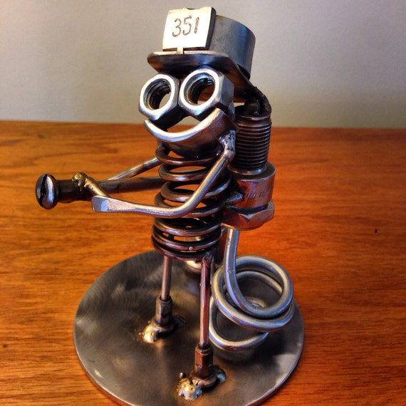 Firefighter Metal Art Boogie