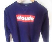 clouds LA hip hop sweater