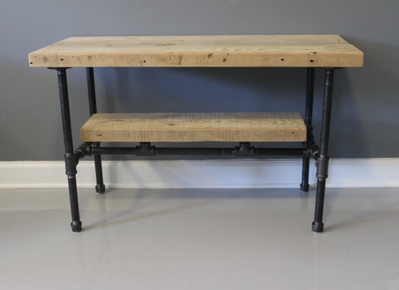 Reclaimed Wood Urban Media TV Stand W Industrial By