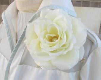 Morning Glory Rose pin