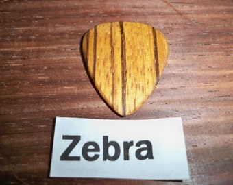 Zebra wood pick