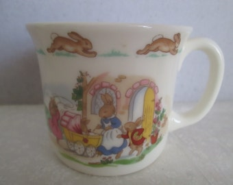 Royal Doulton Bunnykins Cup with 1936 Copyright