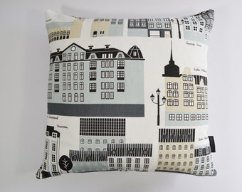 My Stockholm - Klippan Scandinavian Swedish fabric cushion cover