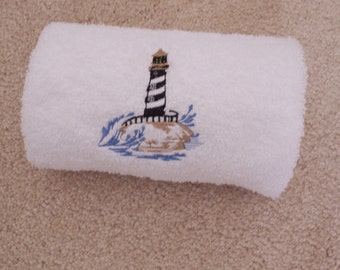 Bath Hand Towel, Towels, Kitchen Towel, Embroidered Towel, Bathroom Decor,  Bath