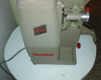 Vintage Mansfield Holiday 8mm Film Projector Model 500