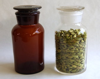500ml Glass Apothecary Jar / Reagent Bottle