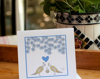 Congratulations on Your Baby Boy, New Baby Card, New Baby Boy