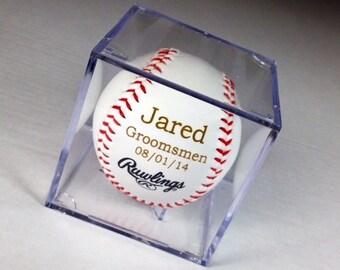 Acrylic Baseball Case Add On - Case ONLY