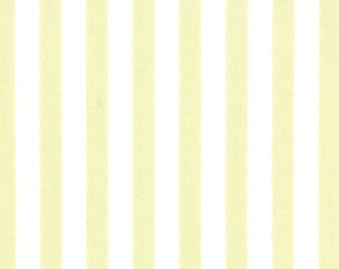 One Yard Windsor Lane - Stripe in Sprig Green - Cotton Quilt Fabric - from Bunny Hill for Moda - 2848-13 (W2043)