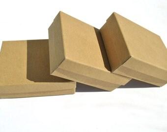 10 White Gray or Kraft Gable Boxes I Large size handle boxes