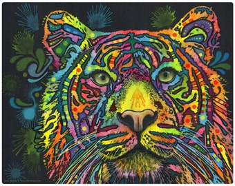 Tiger Big Cat Dean Russo Pop Art Wall Decal #44085