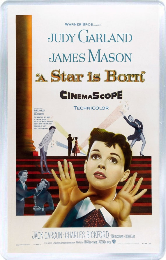 Judy Garland A Star Is Born Fridge Magnet New By NoNameGifts