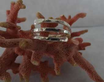 Sterling Silver 14 Gauge Wire Wrap Ring