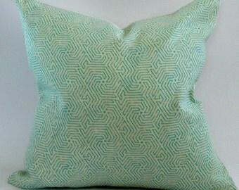 China Seas Maze Pillow Cover