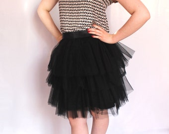 Black Tulle Skirt Manhattan (more colors available)