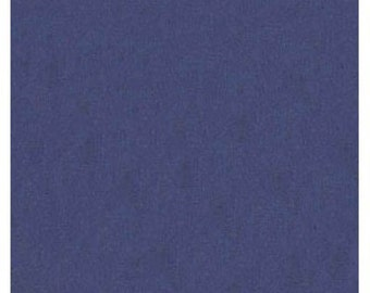 "45"" Navy Blue Broadcloth Fabric - By The Yard"