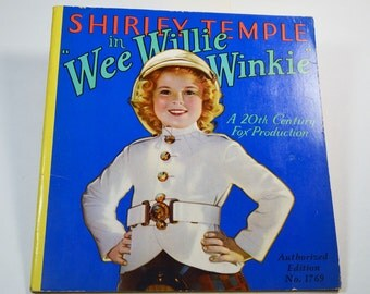 Shirley Temple in Wee Willie Winkie Authorized Edition