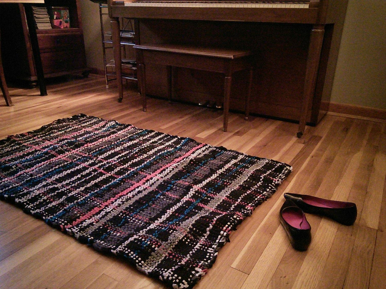 black grey blue and pink rug 3x5. Black Bedroom Furniture Sets. Home Design Ideas