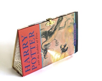 Geeky Book Clutch Harry Potter and the Goblet of Fire Purse