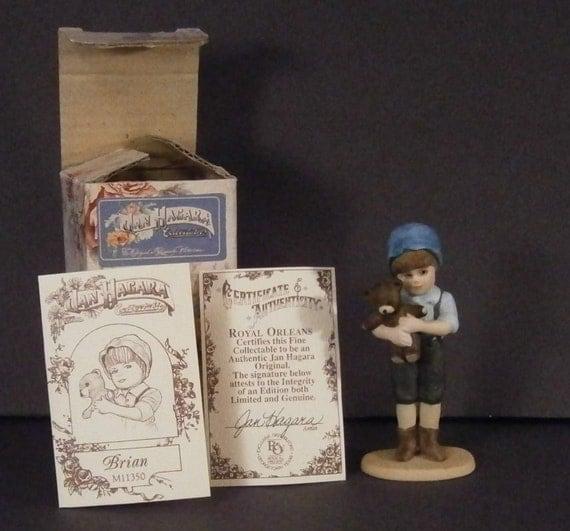 Jan Hagara Figurines: Jan Hagara Mini Figurine Brian Vintage 1990 M11350