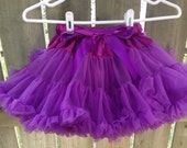 Purple Pettiskirt M(3-4T)