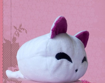 Cat plush cuddly plushie kawaii marshmallow cat cute soft toy mini