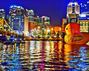 Giant Rubber Duck Etsy