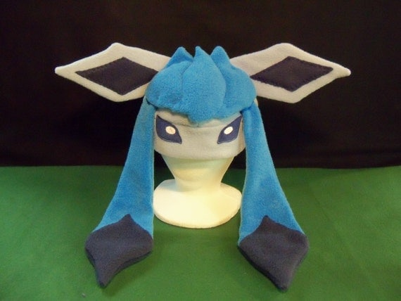 glaceon fleece hat by - photo #11