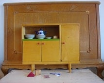 doll house furniture buffet sideboard / chiffonier - servant Soviet vintage 70s