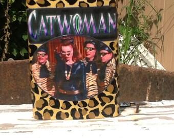 Catwoman vintage Batman Flask