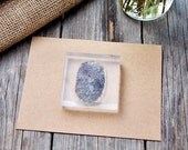 Fingerprint Stamp - 2 x 2 inches - Finger Print Rubber Stamp