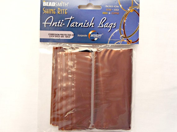 4 x 6in anti tarnish bags pack of 10 jewelry protection for for Anti tarnish jewelry bags