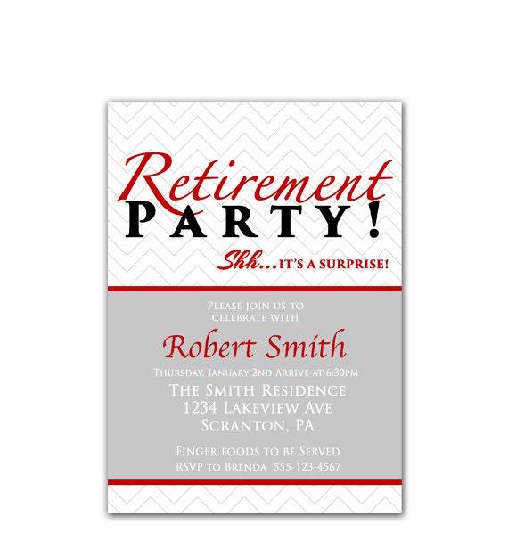 Retirement Celebration Invitation is awesome invitations layout