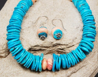 Turquoise Disks and Coral