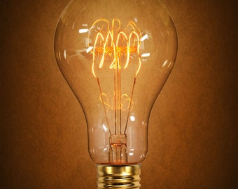 SALE! Edison Bulb 40 Watt Antique Light Victorian Vintage Quad Loop Filament
