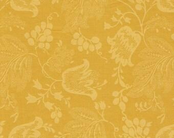 Dutch Chintz -Yellow-Gold - Ton sur Ton FQ